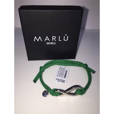 bracciale-infinito-colore-verde