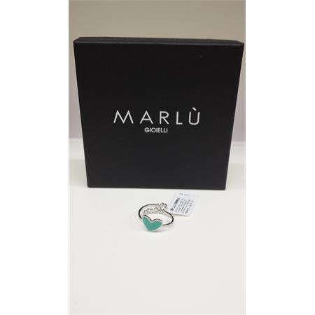 anello-acciaio-cuore-colore-verde-acqua-my-infinity