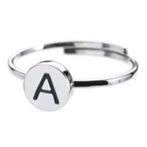 anello-acciaio-lettera-a