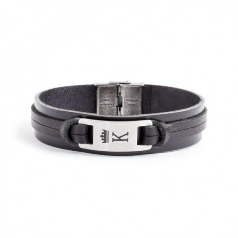 bracciale-pelle-nero-targa-k_medium_image_1