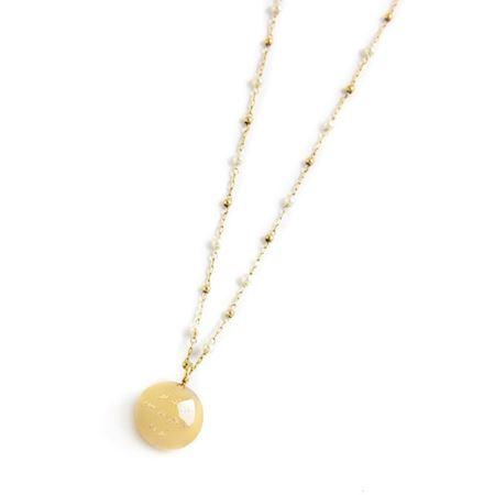 collana-chiama-angeli-catena-perle-sfere-pvd-oro
