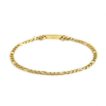 bracciale-catena-figaro-pvd-oro