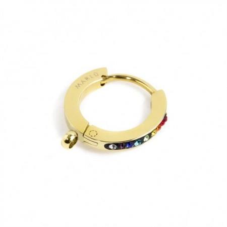 mono-orecchino-cerchio-pvd-oro-14mm-cristalli-multicolor