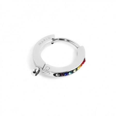 mono-orecchino-cerchio-acciaio-14mm-cristalli-multicolor