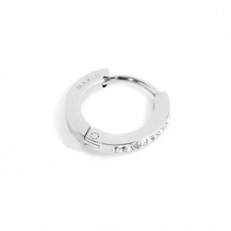 mono-orecchino-cerchio-acciaio-13mm-cristalli-bianchi