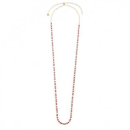 collana-oro-90cm-cristalli-rossi-3mm