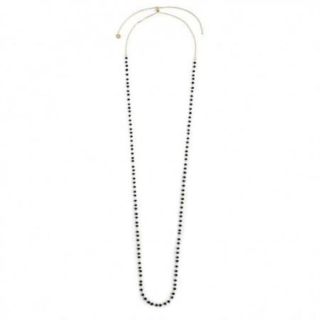 collana-oro-90cm-cristalli-neri-3mm