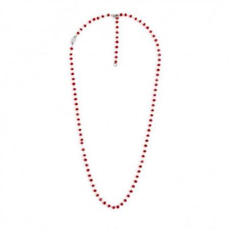 collana-acciaio-50cm-cristalli-rossi-3mm
