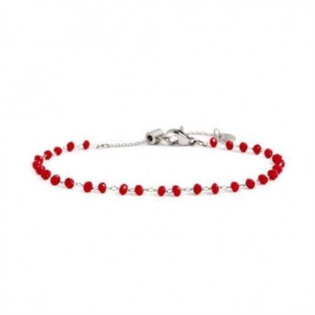 bracciale-acciaio-cristalli-rossi-3mm