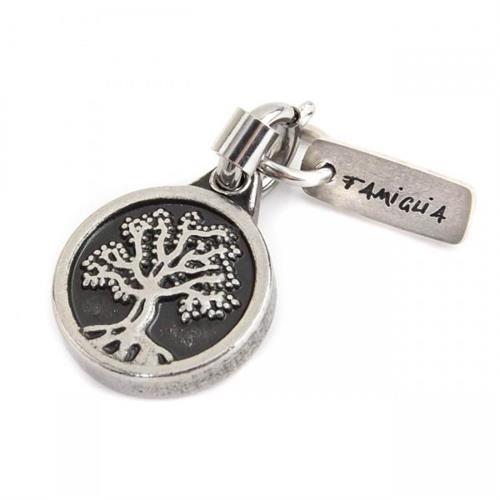 charm-acciaio-brunito-albero-della-vita