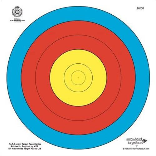 big-archery-6-fogli-bersaglio-fita-ufficiale-40x40-per-tiro-arco-balestra