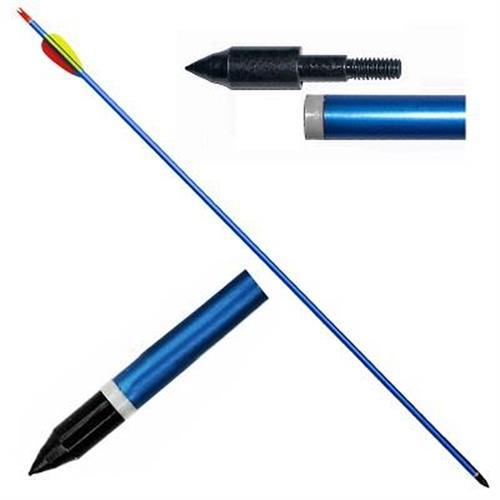 big-fun-line-10-frecce-da-30-in-alluminio-per-tiro-con-arco