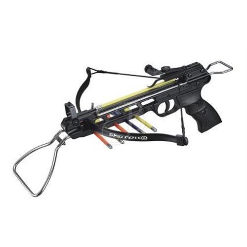 pistola-balestra-skorpion-50lbs-full-metal-con-porta-frecce