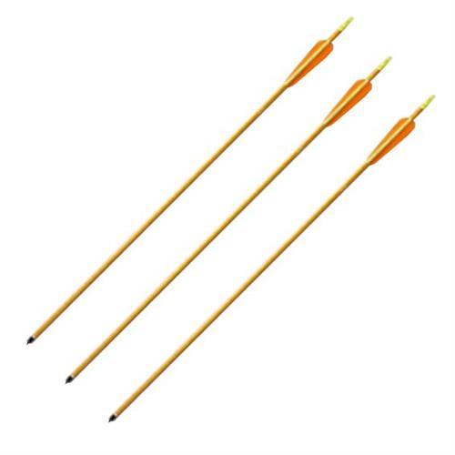 flytech-freccia-da-30-pollici-gold-in-alluminio-per-tiro-con-arco