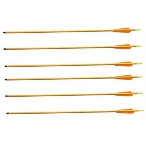 flytech-6-frecce-da-30-pollici-gold-in-alluminio-per-tiro-con-arco