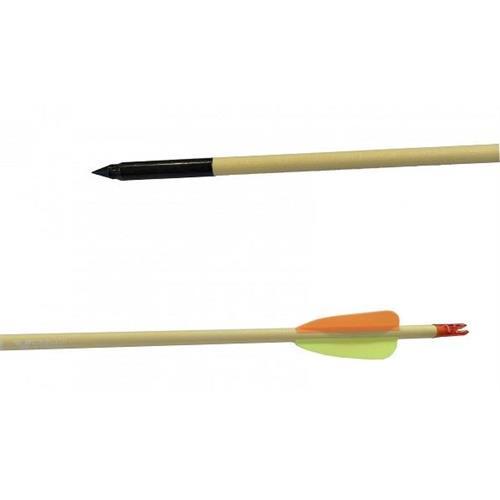 flytech-freccia-per-arco-in-legno-da-77-5cm-con-punta-in-acciaio