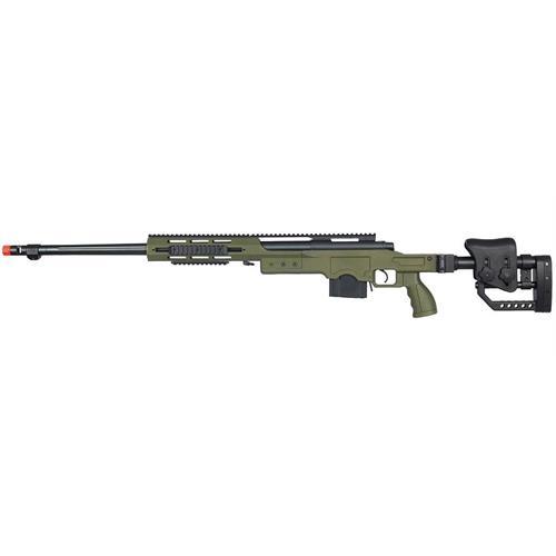 well-sniper-silent-killer-ris-full-metal-green