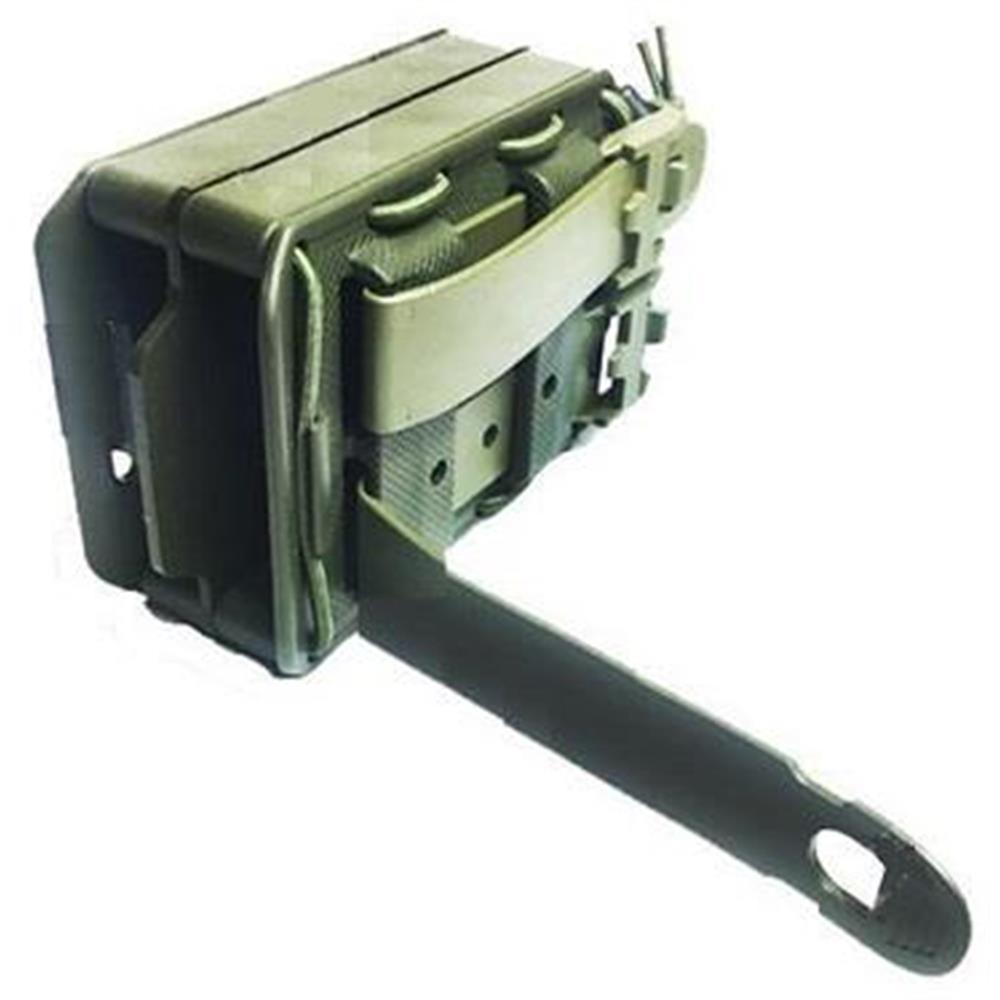 Bulldog Tactical Porta Caricatore Open Triple Bungee Verde Oliva