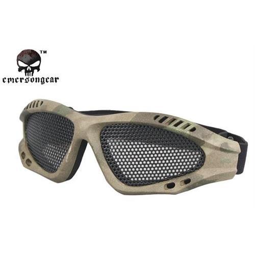 emerson-occhiale-tactical-commando-forest-green-con-rete