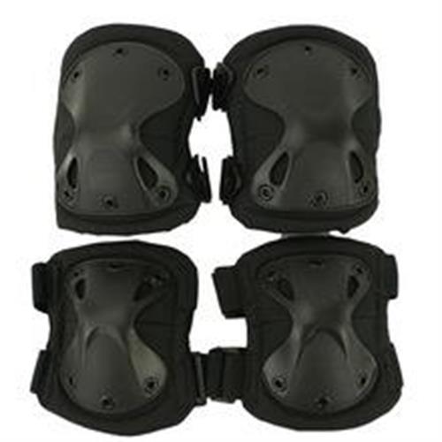 exagon-combat-wear-set-ginocchiere-gomitiere-defence-nere