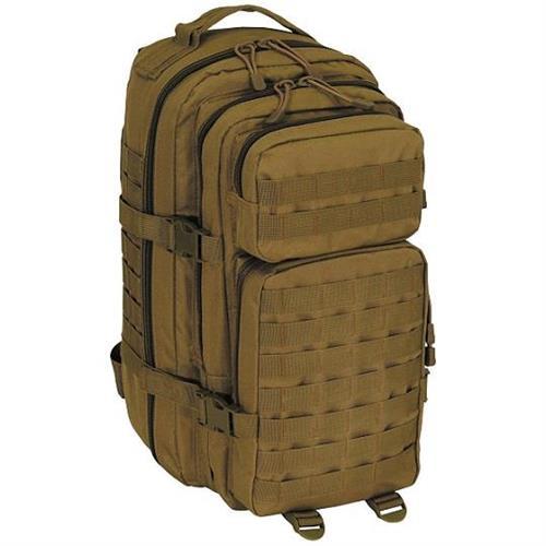 mfh-zainetto-tattico-combat-small-30lt-tan-con-7-tasche