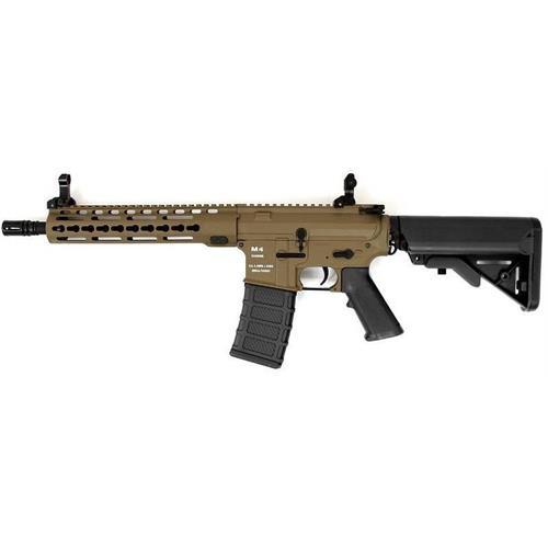 classic-army-m4-km10-tactical-cqb-tan-black-con-batteria-e-carica-batteria
