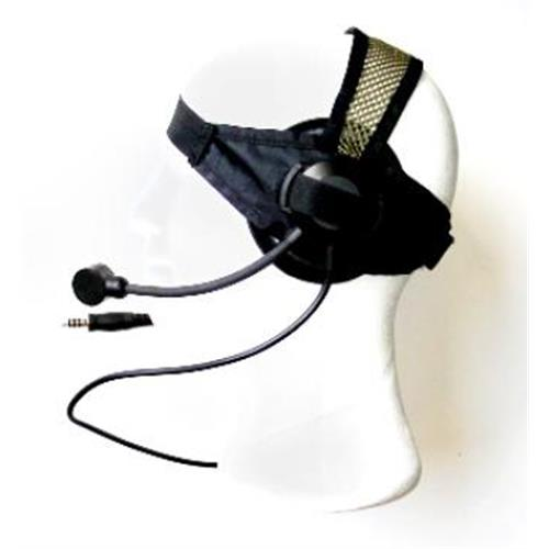 royal-cuffia-singola-black-modello-frog-con-microfono