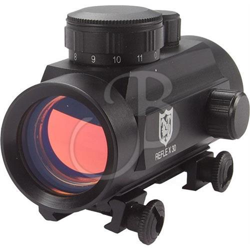 nikko-stirling-red-dot-1x30-punto-rosso-11-intensita-slitta-da-22mm