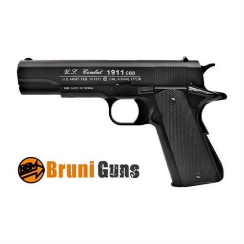 pistola-bruni-1911us-combat-tactical-full-metal-scarrellante-4-5