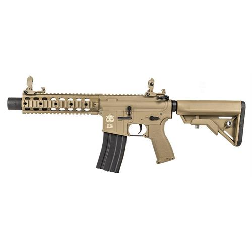 evolution-airsoft-m4-recon-ux-9-carbontech-ops-ris-cqb-tan