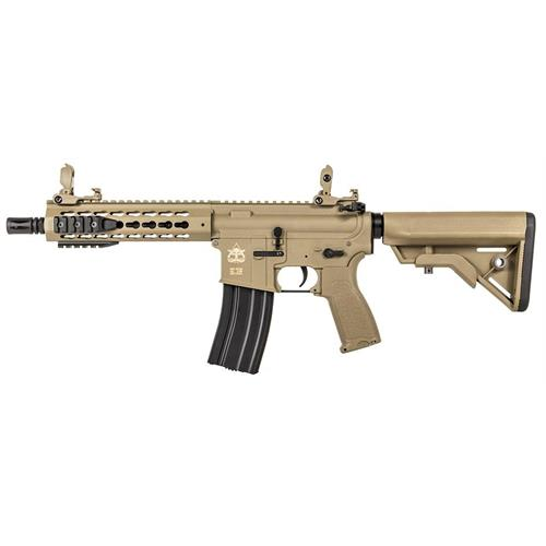 evolution-airsoft-m4-recon-ux4-9-carbontech-ris-cqb-tan