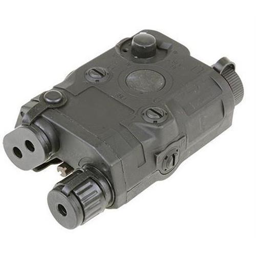 v-storm-porta-batteria-esterno-peq15-verde-con-laser-rosso
