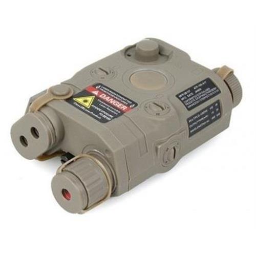 v-storm-porta-batteria-esterno-peq15-tan-con-laser-rosso-via-cavo