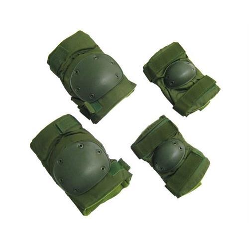 royal-set-ginocchiera-gomitiera-tactical-long-verde-militare