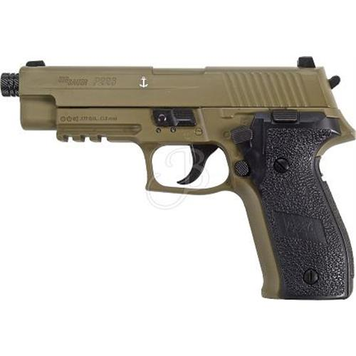 sig-sauer-p226-full-metal-4-5mm-tan-scarrellante