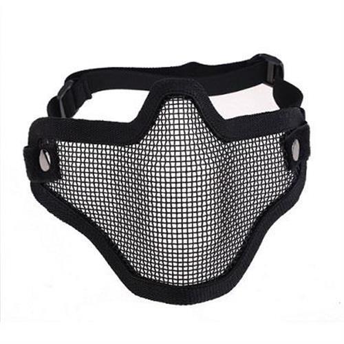 emerson-maschera-facciale-tactical-net-confort-metal-nera
