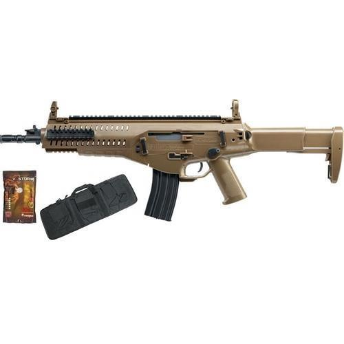 beretta-arx-160-tan-top-fire-vs-pack-con-pallini-e-sacca