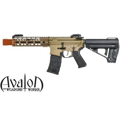 vfc-m4-vr16-saber-cqb-mod1-full-metal-tan-con-custodia-rigida