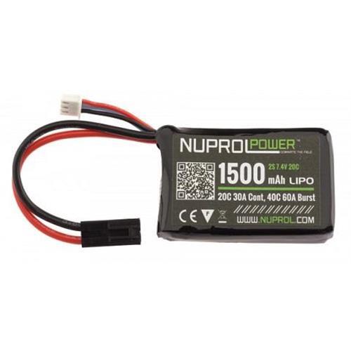 batteria-lipo-mini-1500mah-7-4v-20c-nuprol