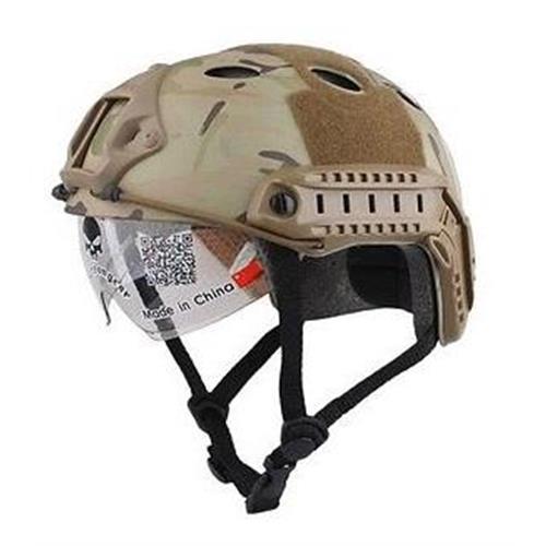 emerson-casco-tattico-fast-pj-multicam-con-visiera