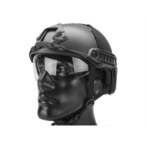 emerson-casco-tattico-fast-mh-nero-con-visiera