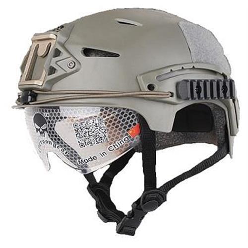 emerson-casco-tattico-exf-bump-verde-con-visiera