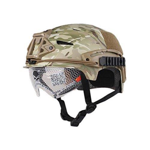 emerson-casco-tattico-exf-bump-multicam-con-visiera