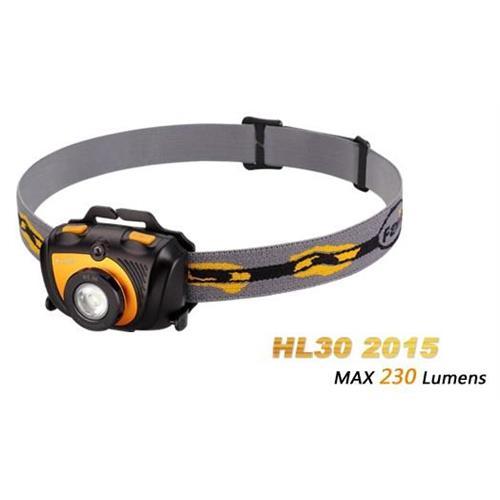 torcia-frontale-fenix-hl30-al-led-230-lumen-per-casco-testa