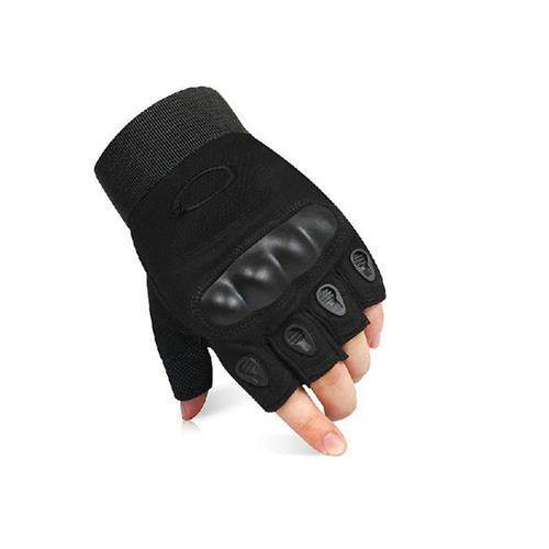 v-storm-guanti-half-in-pelle-e-tessuto-con-rinforzo-nocche-colore-nero