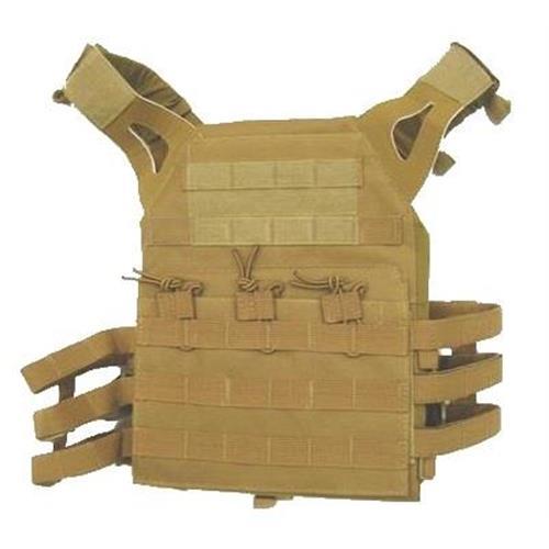 exagon-combat-wear-corpetto-tattico-pro-combat-tan-imbottito-con-molle-system