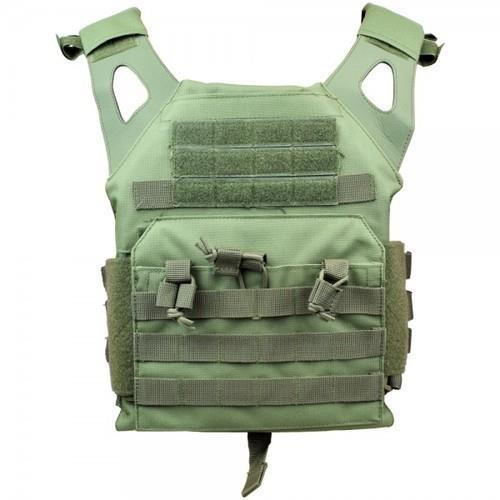 js-tactical-corpetto-tattico-pro-combat-verde-imbottito-con-molle-system