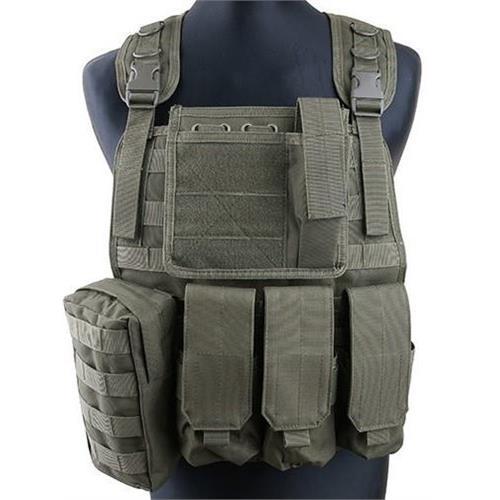 v-storm-corpetto-tattico-verde-con-6-tasche-e-molle-per-accessori