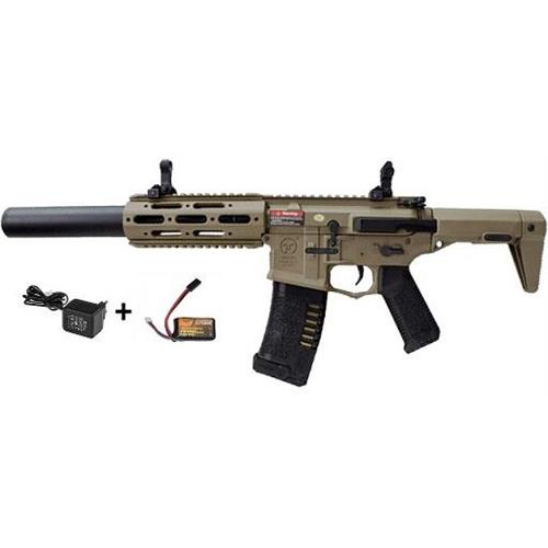 ares-m4-ris-honey-badger-assault-rifle-tan-batteria-e-carica-batteria