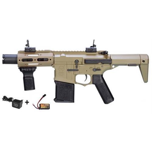 ares-m4-stubby-tactical-ris-nero-con-batteria-e-carica-batteria